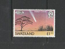 Suazilandia 1986 Halley cometa Um/estampillada sin montar o nunca montada SG 499