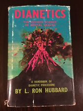 Dianetics The Modern Science of Mental Health by L. Ron Hubbard 1950 ed 23rd pr.