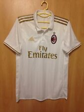 AC MILAN ITALY 2016/2017 AWAY FOOTBALL SHIRT JERSEY MAGLIA ADIDAS