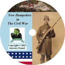 New Hampshire Civil War Books History Genealogy 25 Book
