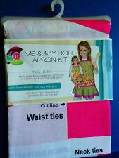 "Brand New Daisy Kingdom Me & My Doll Apron Kit - Fits 18"" Dolls Fruit Design"