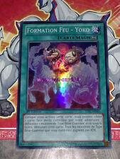 Carte YU GI OH FORMATION FEU - YOKO JOTL-FR065