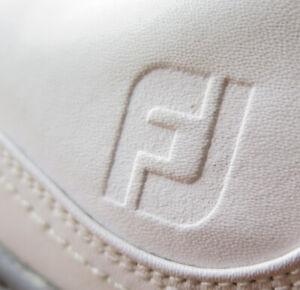 FootJoy Contour BOA OptiFlex White Saddle Golf Shoes (12M) OMG! 54189 ⛳️