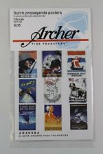 Archer Fine Transfers 1/35 Dutch Propaganda Posters WWII (23 Posters) AR35384