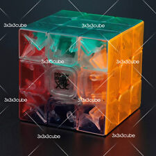Transparent MoYu Ao Long Crystal Speed 3x3x3 Magic Cube Aolong 57mm TurboVersion