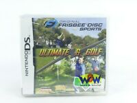Original Frisbee Disc Sports: Ultimate & Golf for Nintendo DS Brand New!