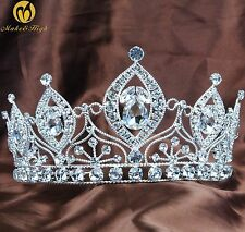 Girl Birdesmaid Tiara Headband Austrian Rhinestone Crown Bridal Hair Accessories