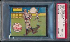 1943 R302-1 M.P. & Co. Joe DiMaggio PSA 8 NM-MT (Pop 1, Highest) Yankees
