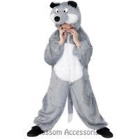CK482 Wolf Big Bad Fairytales Book Week Animal Jumpsuit Boys Girls Fancy Costume