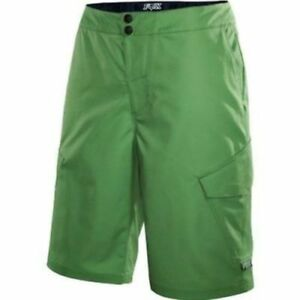 "Fox Head Ranger Cargo 12"" Mountain Bike Shorts Green w/ Liner Size: 30 New"