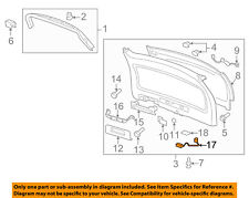 GM OEM Liftgate Tailgate Hatch-Switch 23423750