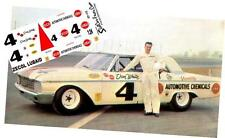 CD_1775 #4 Don White Zecol Lubaid  1962 Ford  1:64 Scale Decals  ~OVERSTOCK~
