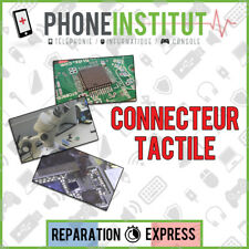 Reparation carte mere iphone 3GS connecteur tactile