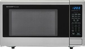 Sharp SMC1132CS 1.1 Cu. Ft. Countertop Mid-Size Microwave 1000W Stainless steel