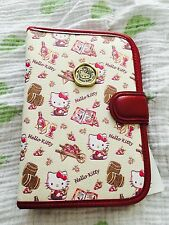 Hello Kitty Merlot Red Wine Sanrio Personal Planner Wallet Vivitix RARE