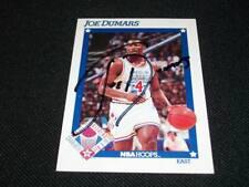 Detroit Pistons HOF Joe Dumars Auto Signed 1991/92 Hoops Card #250  N