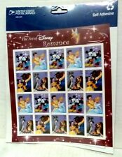 Sheet of (20) USPS Disney Romance .39 cent Stamps - in Orig Package