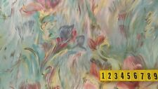 Medium Cotton Fabric Multi Colour Abstract Floral - 135cm Wide - New by Dcf