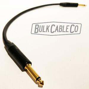 2' Mogami 3082 Speaker Cable - Neutrik NP2X-B Straight Connectors - Amp To Cab