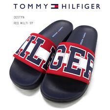 Tommy Hilfiger Women's Slide Sandals Red White Blue Size 11 New