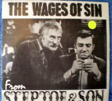 "STEPTOE & SON-THE WAGES OF SIN PART 1 ""RARE OZ"" EP 45 RPM"