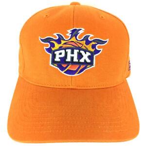 Phoenix Suns Hat Script Spell Out Logo Reebok NBA Basketball Baseball Sports Cap