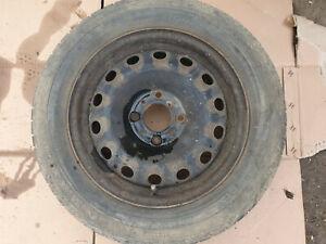 CITROEN C2 2003-09 14 INCH STEEL WHEEL WITH  POOR 175 65 R14 TYRE