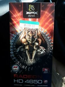 XFX - ATI RADEON HD 4650 1GB DDR2 PCI Express Graphics Card