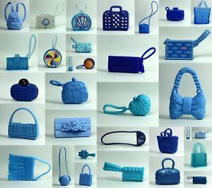 Barbie Fashionistas Blue Purse Bag Choose Pick One for 1/6 Scale Doll