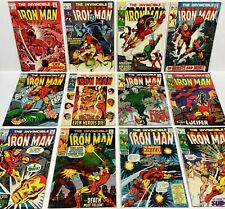 IRON MAN #13,14,15,16,17,18,19,20,21,22,23,25 NICE COMICS! (12 issues!) Marvel