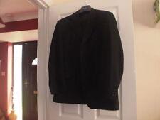 Mens BURTON grey pinstripe suit, jacket 42 (44) short, trousers W36 short L28