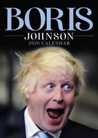 Boris Johnson 2020 Wall Calendar - Funny / Quirky - Birthday / Christmas Gift