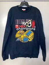 Mitchell & Ness Chicago Bulls 1993 NBA Champions Black Crewneck Sweatshirt - XL