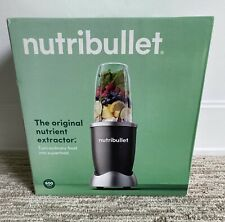 NutriBullet 600 Watt Stainless Steel Nutrition Blender, Gray