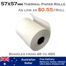 57x57 mm THERMAL RECEIPT PAPER ROLLS (As low as $0.55 per roll)