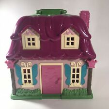 Lil Woodzeez Calico Critters Flower House Pink Woodland Play Dollhouse