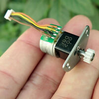 Mini 15mm 2-phase 4-wire Metal Precise Gearbox Gear Stepper Motor DIY Robot 1:33