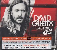 David Guetta Listen Again 2 CD Set Limited Deluxe Edition incl: Bang My Head