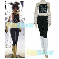 Bleach Yoruichi Shihouin Halloween Cosplay Costume Jumpsuit Underwear Accessory