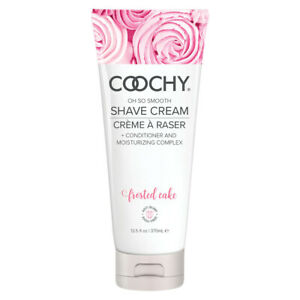 Coochy Rash Free Shave Cream for Body Intimate Areas 12.5 oz Frosted Cake
