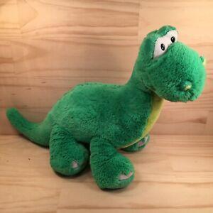 "CRUSHER THE DINOSAUR ""Green"" Beautiful Cuddly Dino Animal Soft Toy Friend GUND"