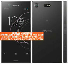 "SONY XPERIA XZ1 COMPACT G8441 4gb 32gb 19mp Fingerprint 4.6"" Android Smartphone"