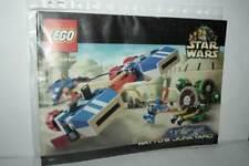 MANUALE LEGO STAR WARS SET 7186 WATTO'S JUNKYARD USATO OTTIMO STATO FR1 55365