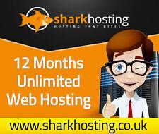 Tiger Shark Unlimited Website/hébergement Web pour 12 mois hôte jusqu ' à 10 sites Web