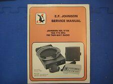 Johnson Service Manual SDL 6156 150-174 MHz