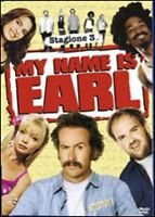 Cofanetto MY NAME IS EARL SERIE STAGIONE 3 SERIE TV (4 DVD) - Nuovo sigillato
