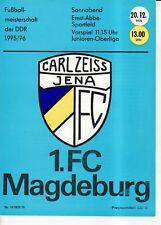 OL 75/76  FC Carl Zeiss Jena - 1. FC Magdeburg