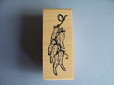 CREATIVE IMAGES RUBBER STAMPS CISTAMPS STRING OF CHILI PEPPERS STAMP