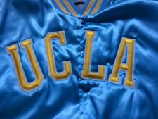 Vintage UCLA Bruins Satin Jacket Swingster Size Large Fisher Made in U.S.A.