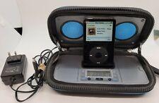 Apple 30GB iPod Classic 5th Gen Black MA446LL A1136 W/ Speaker Dock A1136 Tested